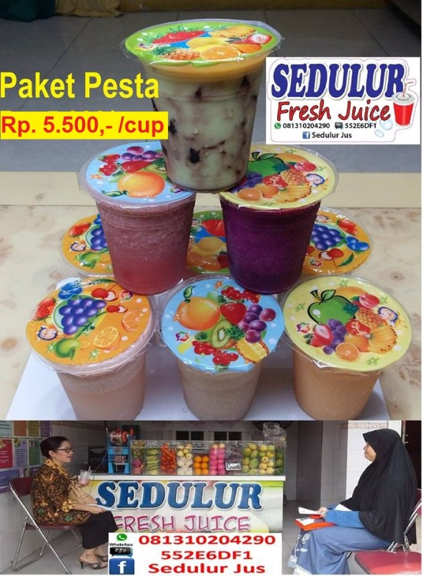 Fresh Juice Pesta 5500