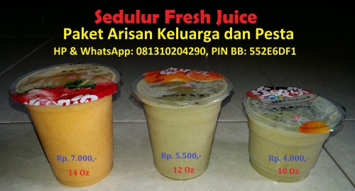Sedulur Fresh Juice
